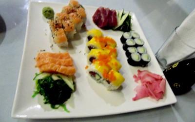 Sushi in Lux Siargao