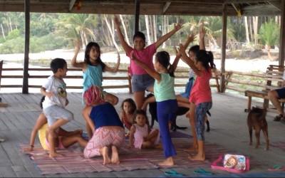 siargao kids yoga