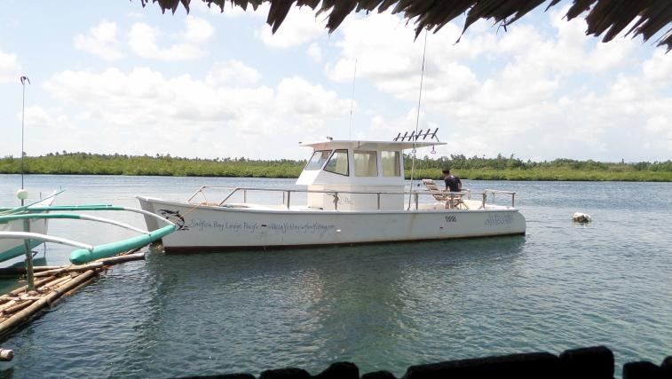 sailfishing boat