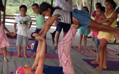 Siargao kids yoga