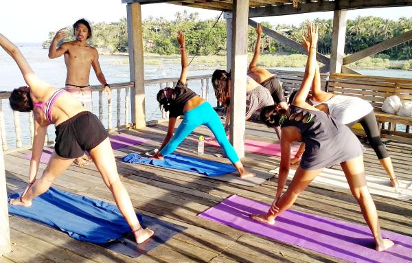 yoga siargao