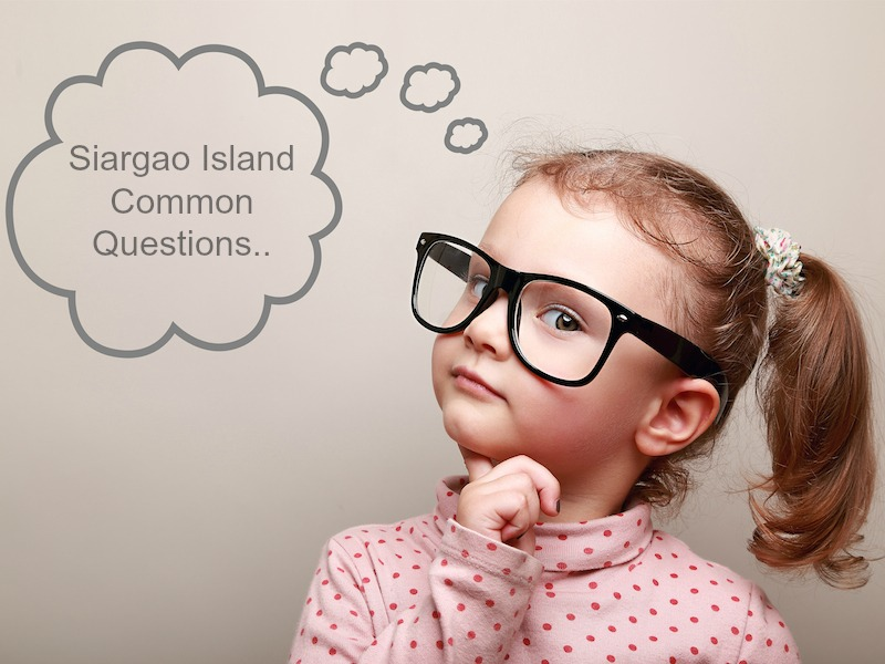 Siargao Common Questions